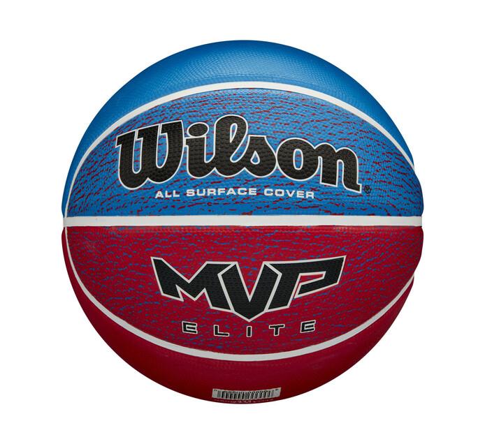 WILSON MVP ELITE BASKETBALL SZ 7 RD/BLU