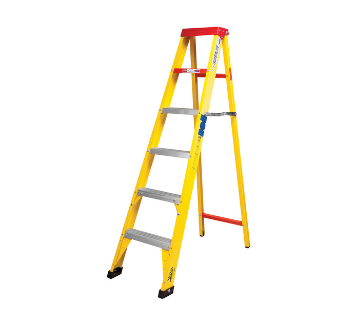 GRAVITY 1.8 m Fibreglass 6-Step Ladder