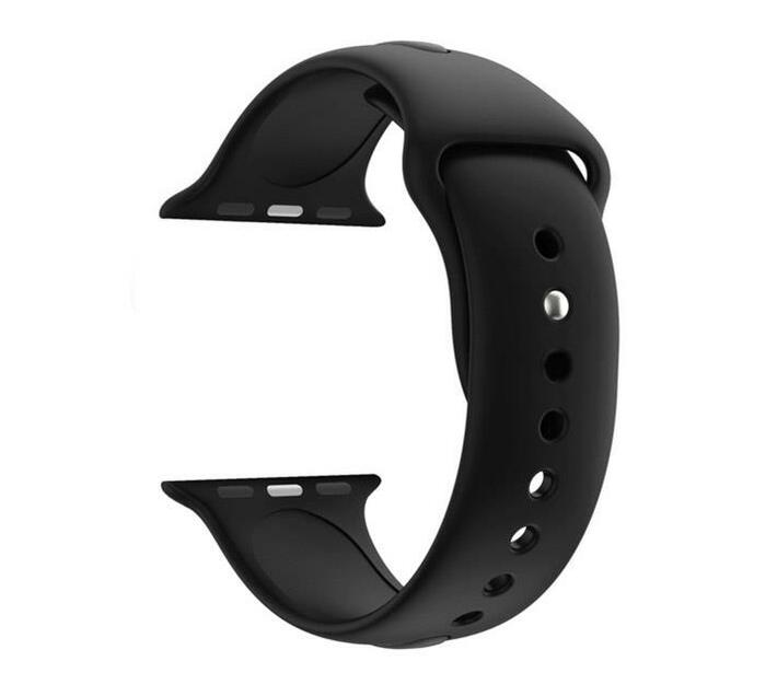 Zonabel 42mm Silicone Strap for Apple Watch - Black