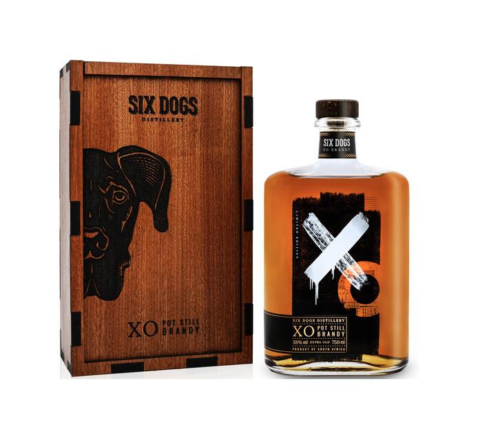 Six Dogs XO Potstill Brandy (1 x 750ml)