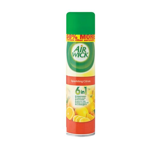 Airwick Air Freshner Sparkling Citrus (6 x 280ml)