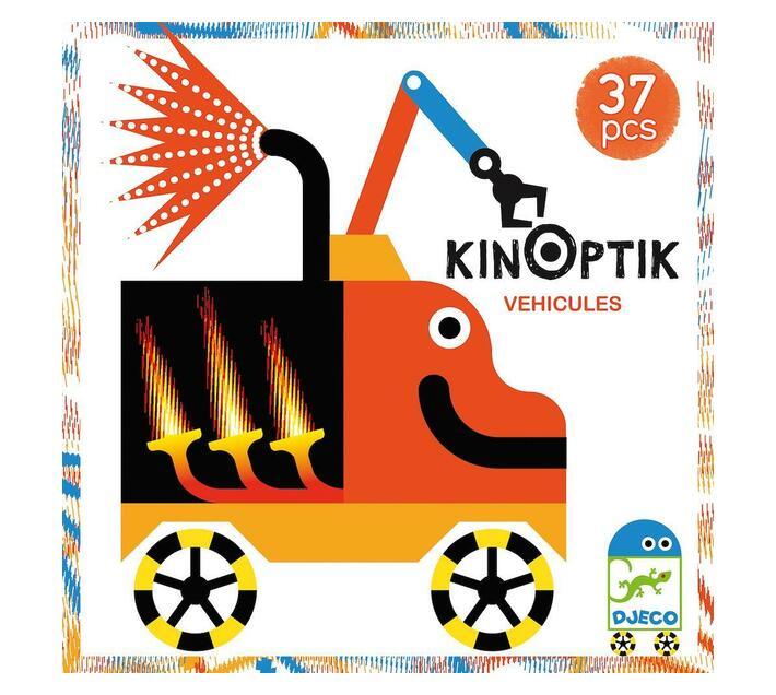 Djeco Kinoptic- Vehicles