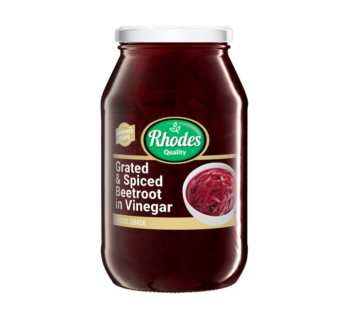 Rhodes Beetroot Grated (1 x 780g)