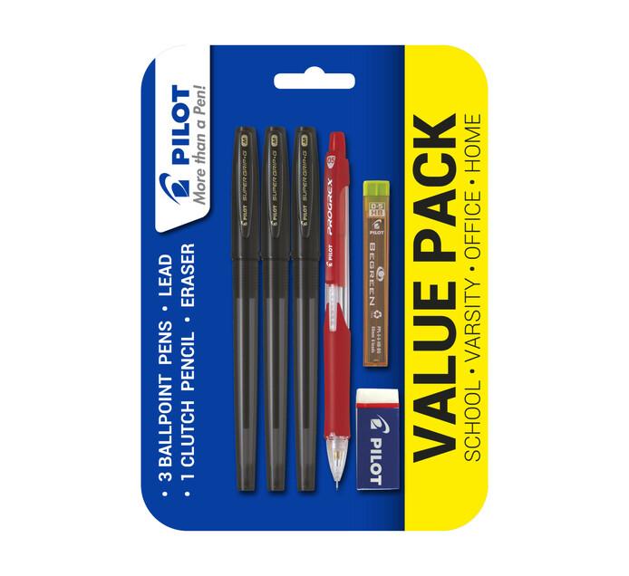 Pilot Value Pack Blue Ink black ink