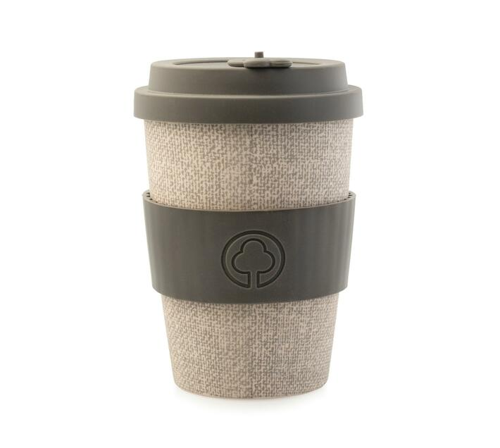 Bamboo Eco Cup 400ml Grey