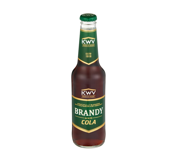 KWV Brandy & Cola NRB (24 x 275ml)