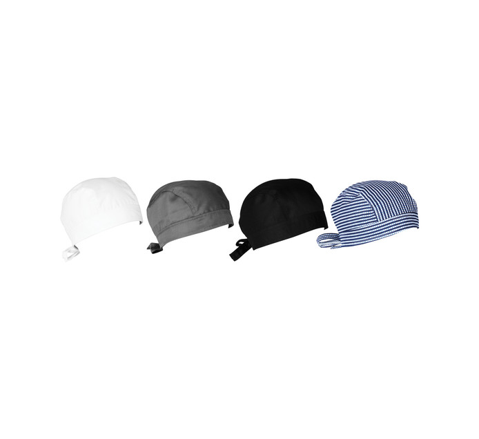 Bakers & Chefs 2 Pack Head Wraps 2-Pack