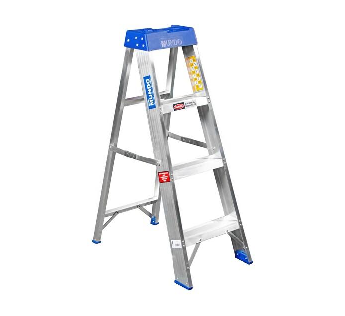 Mundo 4-Step 1.2 m Aluminium Ladder
