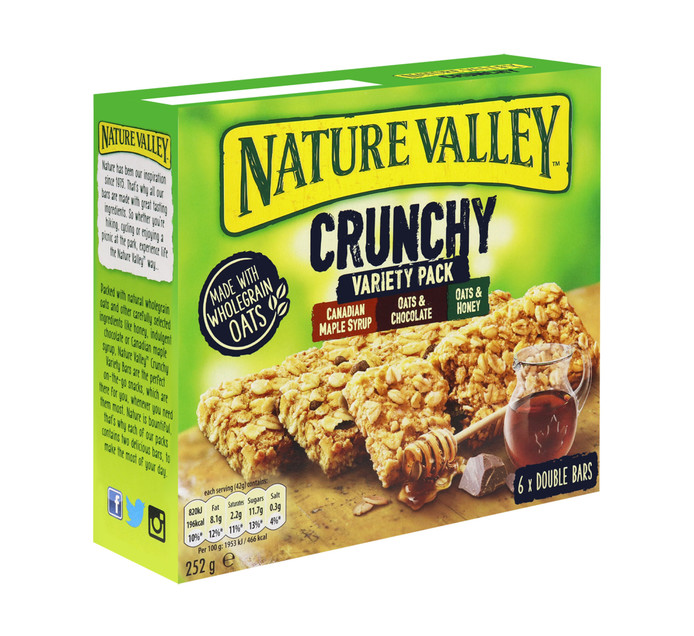 Nature Valley Granola Bars Variety Pack (6 x 42g)