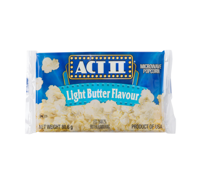 Act 11 Microwave Popcorn Light Butter (1 x 85g)