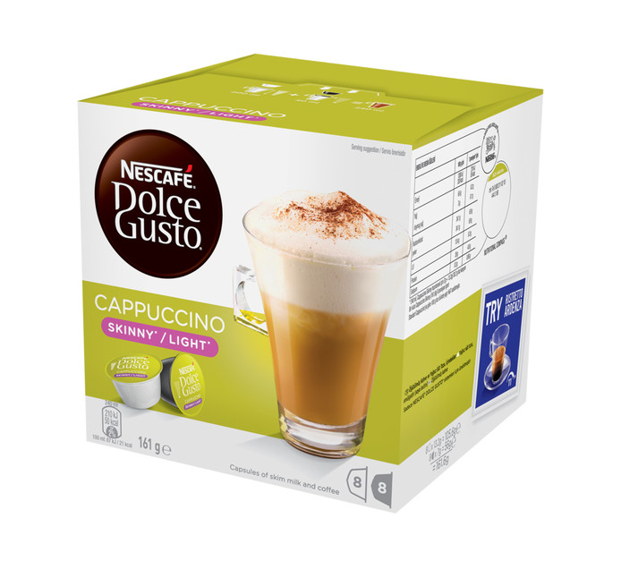 NESCAFE Dolce Gusto Coffee Pods Skinny Cappuccino (1 x 161.6g)