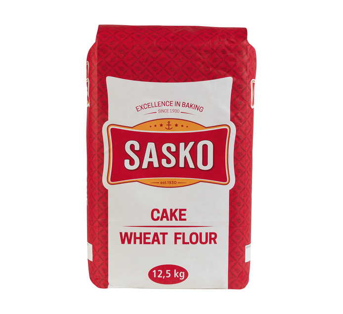SASKO Cake Wheat Flour (1 x 12.5kg)