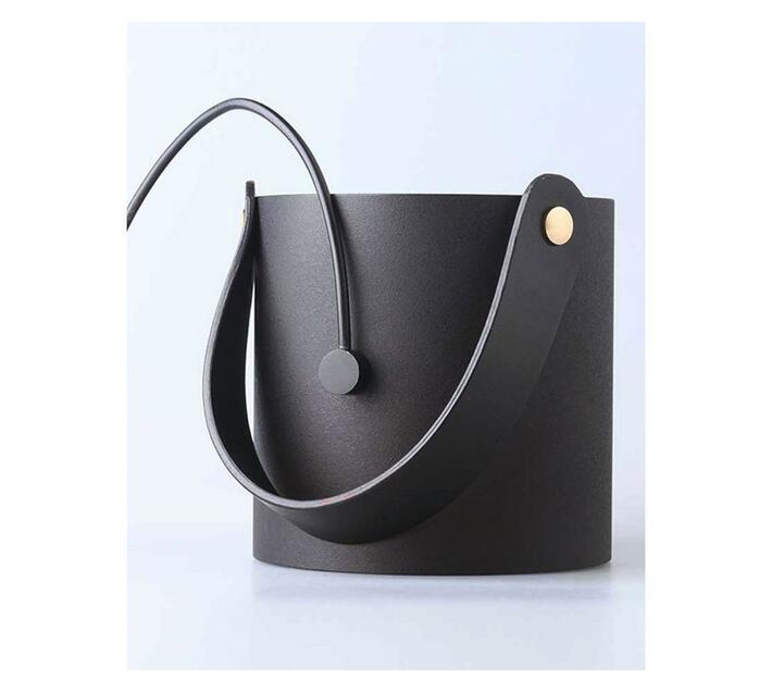 Mijia Portable Creative Smart Touch Ultra Mini Quiet USB Desk Fan - Black
