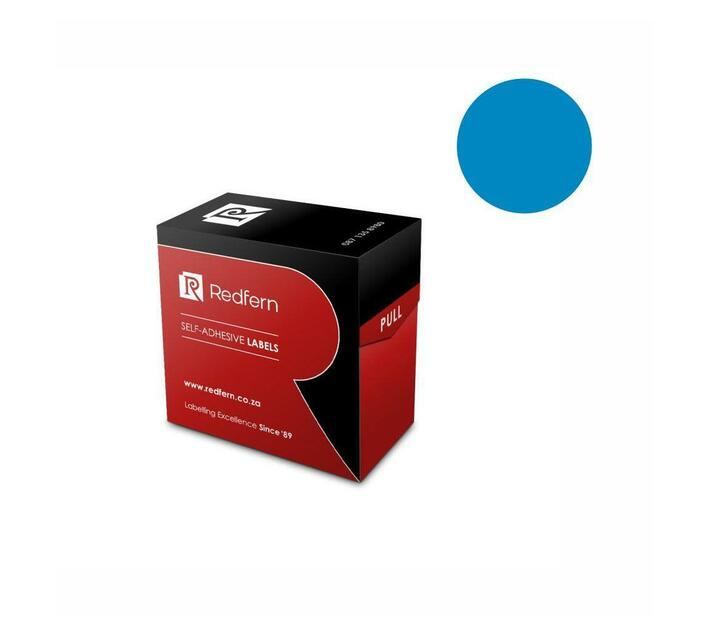 Redfern Self-Adhesive Colour Codes - C19 Light Blue