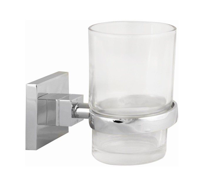 Wildberry Glass Tumbler And Holder