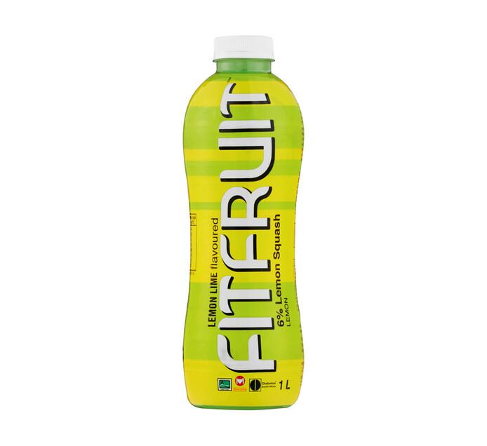 Fitfruit Sugar Free Squash Lemon Lime (1 x 1lt)
