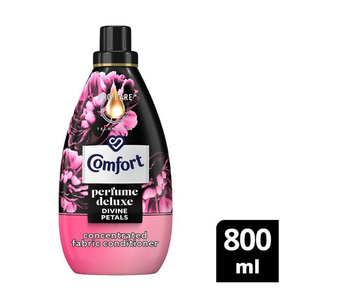 Comfort Perfume Deluxe Fabric Conditioner Luxury Petal (12 x 800ml)