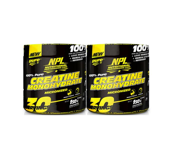 NPL 150 g + 150 g Creatine Monohydrate