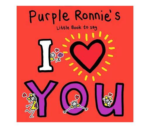 Purple Ronnie`s I Heart You