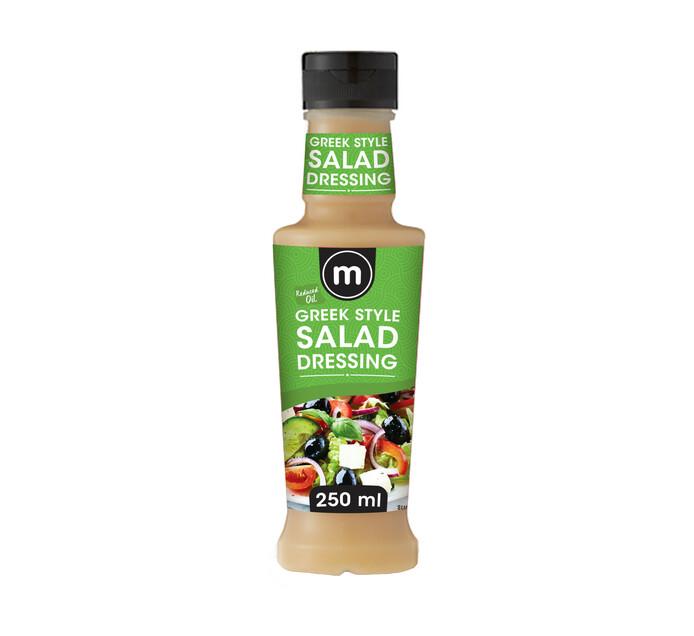 M Brand Salad Dressing Reduce Oil Greek (1 x 250ml)