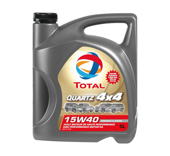 Total 5L Quartz 4x4 15W40