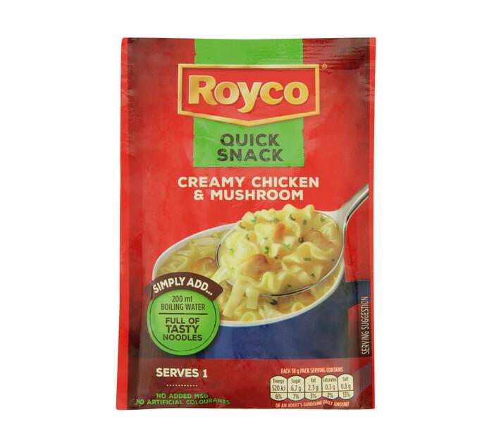 Royco Quick Snack Creamy Chicken And Mushroom (1 x 38g)