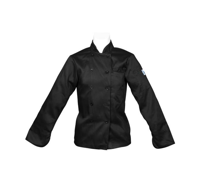 Bakers & Chefs Medium Long Sleeve Chef Jacket Black