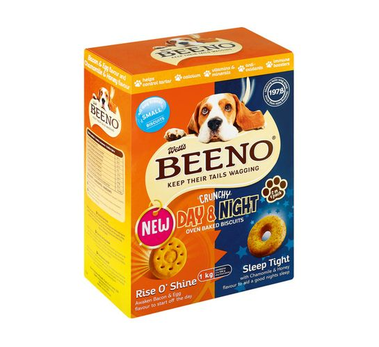 Beeno Dog Biscuits Small Bacon (1 x 1kg)