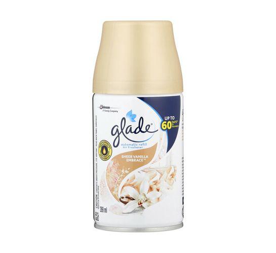 Glade Auto Air Freshener Refill Sheer Vanilla Embrace (1 x 269ml)