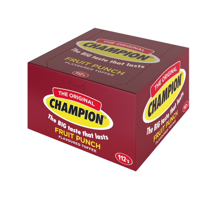 Mister Sweet Champion Toffees Fruit Punch (1 x 112's)