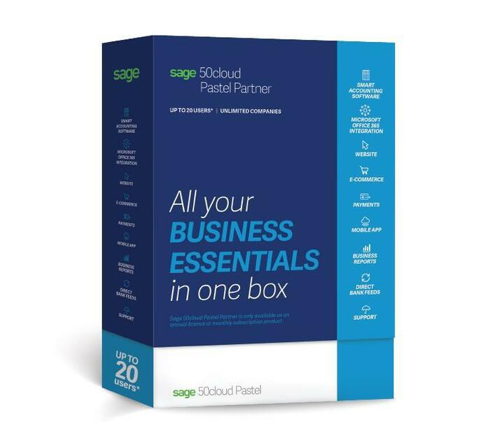 Sage 50cloud Pastel Partner Accounting (1 User, Unlimited Companies)