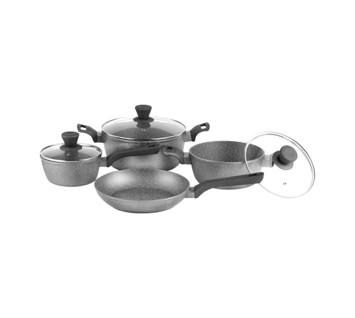 Legend Granite Chef 7pce cookware set