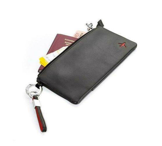 Troika Travel Case Red Pepper