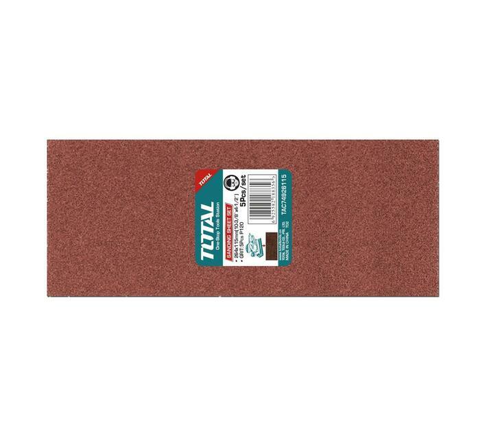 5pcs , 264X115mm Sanding sheet set