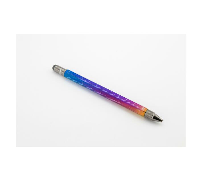 Troika Multitasking Ballpoint Pen Mini Tool Multi-Coloured