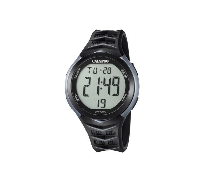 Calypso Digital Mens Trend Chrono Watch - Black