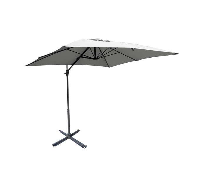 Urban Oasis Roman 360° Rotating Cantilever Umbrella