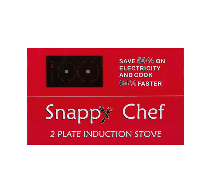 SNAPPYCHEF 2-PLATE INDUCTION STOVE
