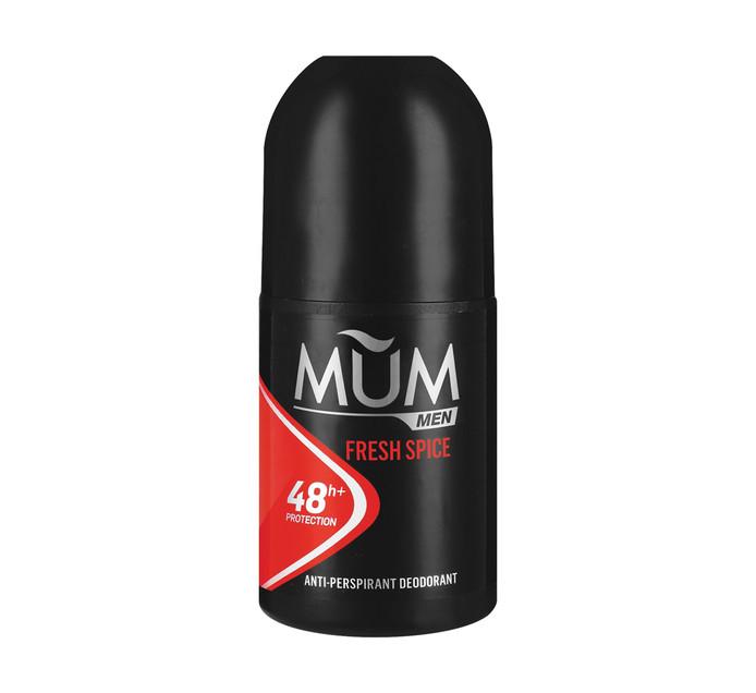 MUM Roll On Fresh Spice (6 x 45ml)