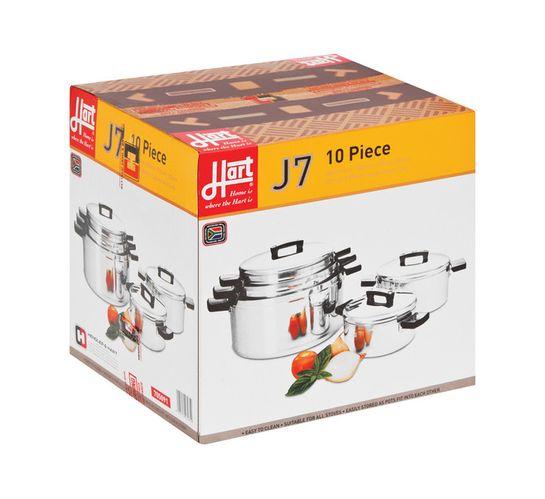 Hart 10-Piece Aluminium Cookware Set