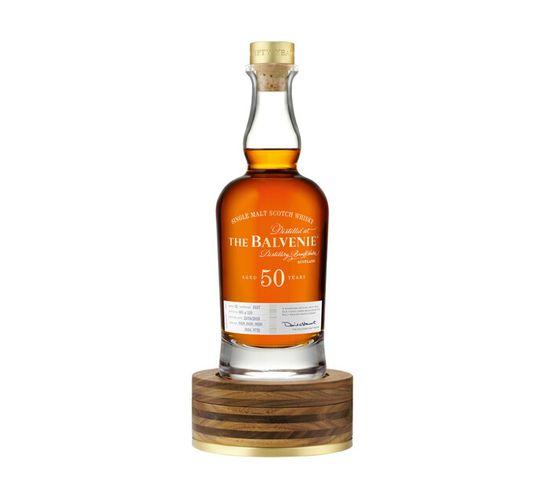 Balvenie 50 YO Speyside Single Malt Whisky In Special Collectors Tube (1 x 750 ml)