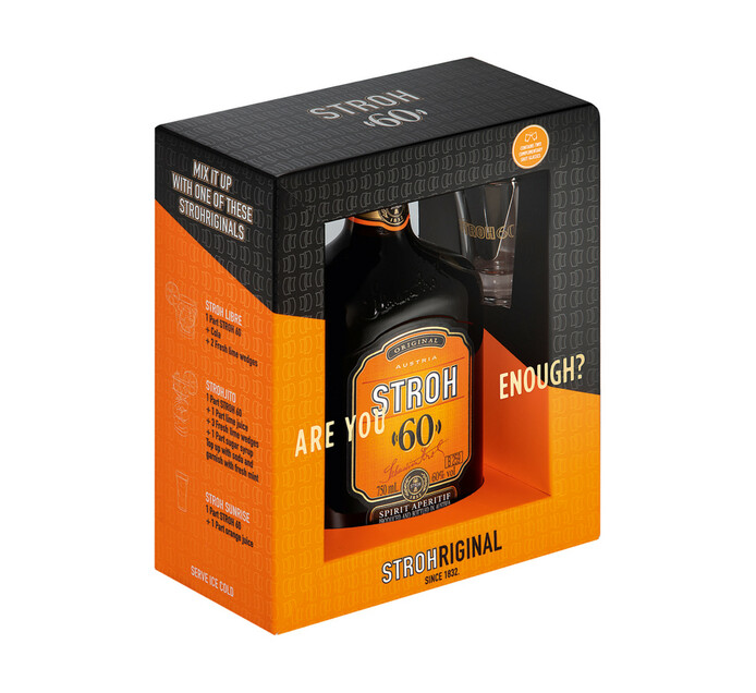 Stroh Rum 60% (1 x 750ml)