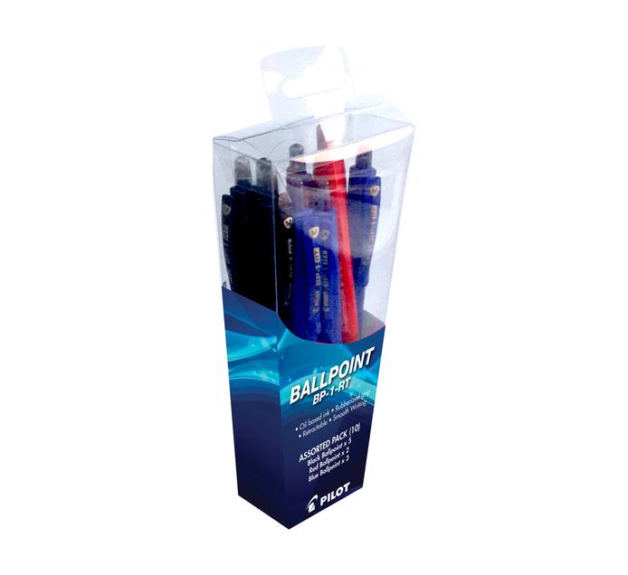 Pilot Ballpoint Pen Assorted 10 Pack