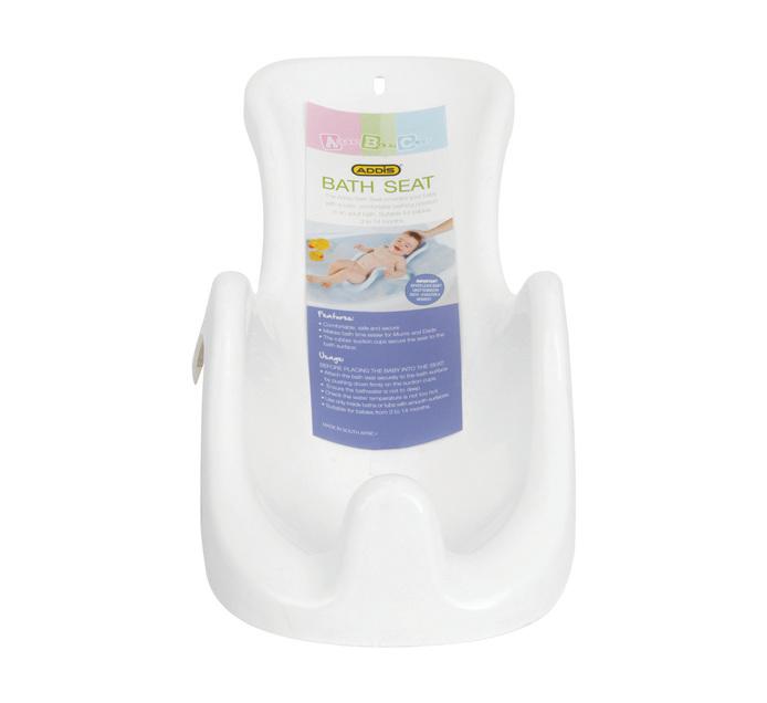 Addis Addis Baby Bath Seat White