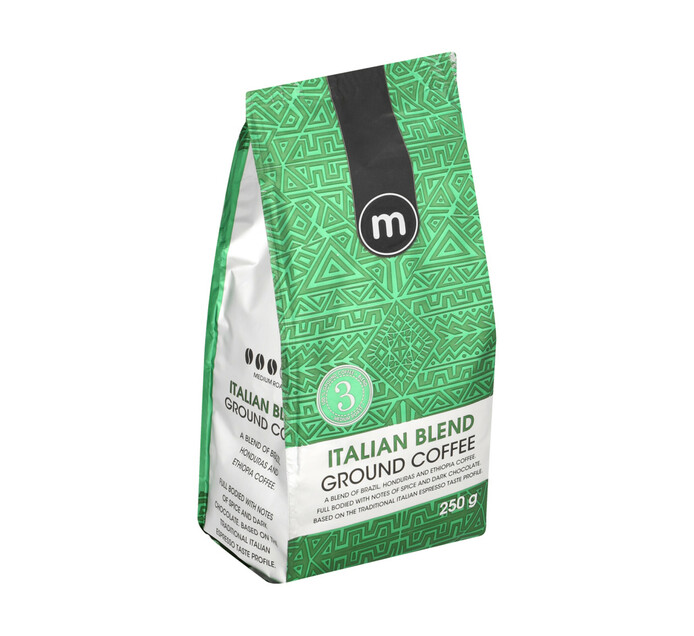 M Ground Coffee Blend Italian (12 x 250g)
