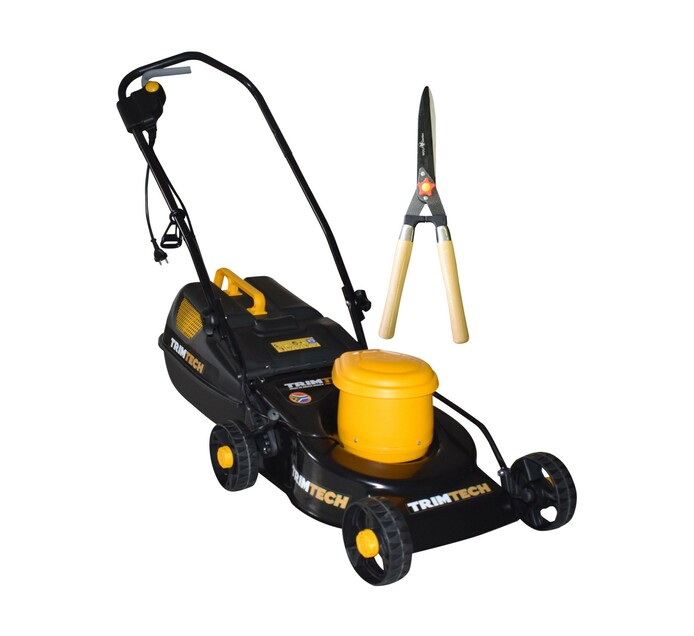 Trimtech 1300 W Lawnmower plus Straight Shear