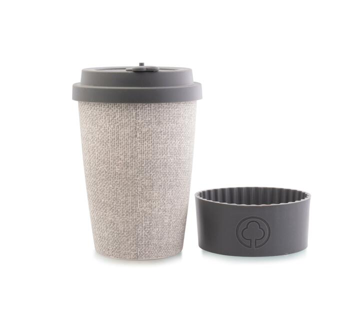 Bamboo Cup 400ml Grey