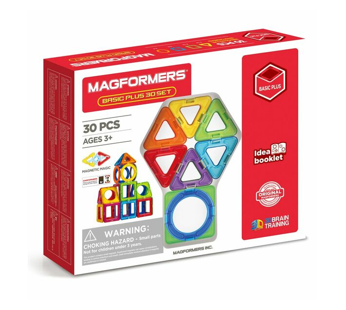 Magformers Basic Plus 30 set (Inner Circle)