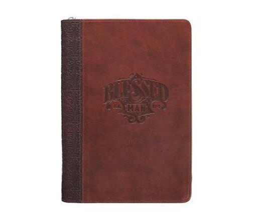 Journal Classic Brown Blessed Man