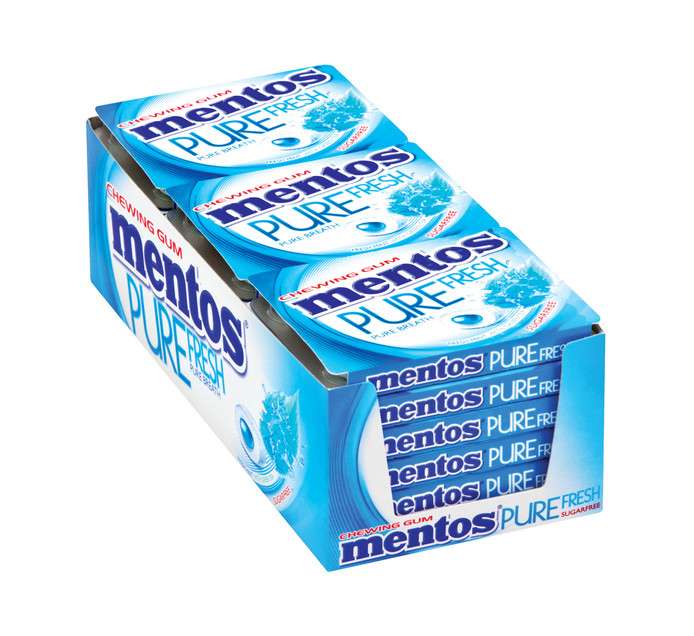 Mentos Sugar Free Gum Pure Fresh Mint (1 x 8PC)